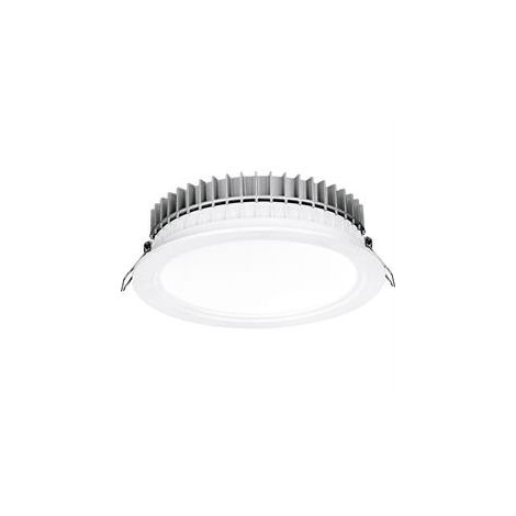 Aurora HV Crystal Cool Fixed 13W Dimmable IP44 LED Downlight 120mm 4000K