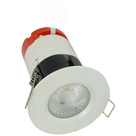 Aurora MPRO LED Downlight Fixed 7W 4000K + AU-BZ600MW Matt White