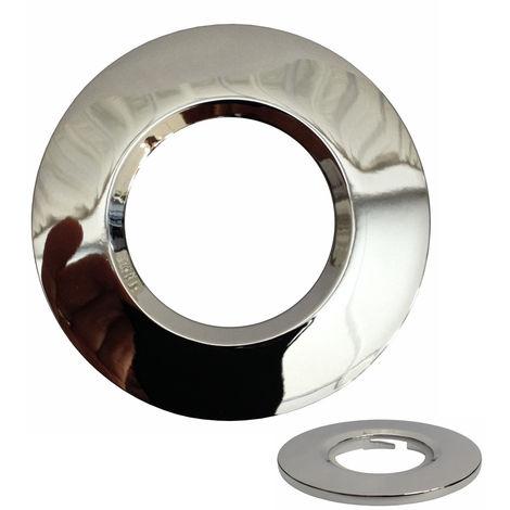 Aurora Polished Chrome Round Bezel For Fixed MPRO1 LED Downlights (AU-BZ600PC)