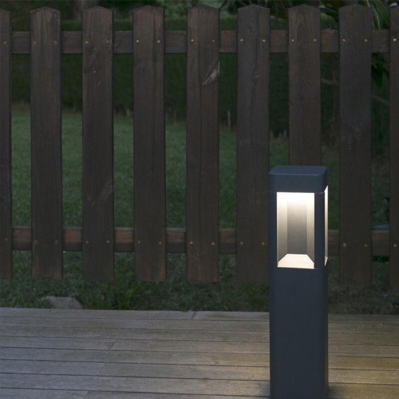 LED Außenwandleuchte Naya in Grau 500 mm