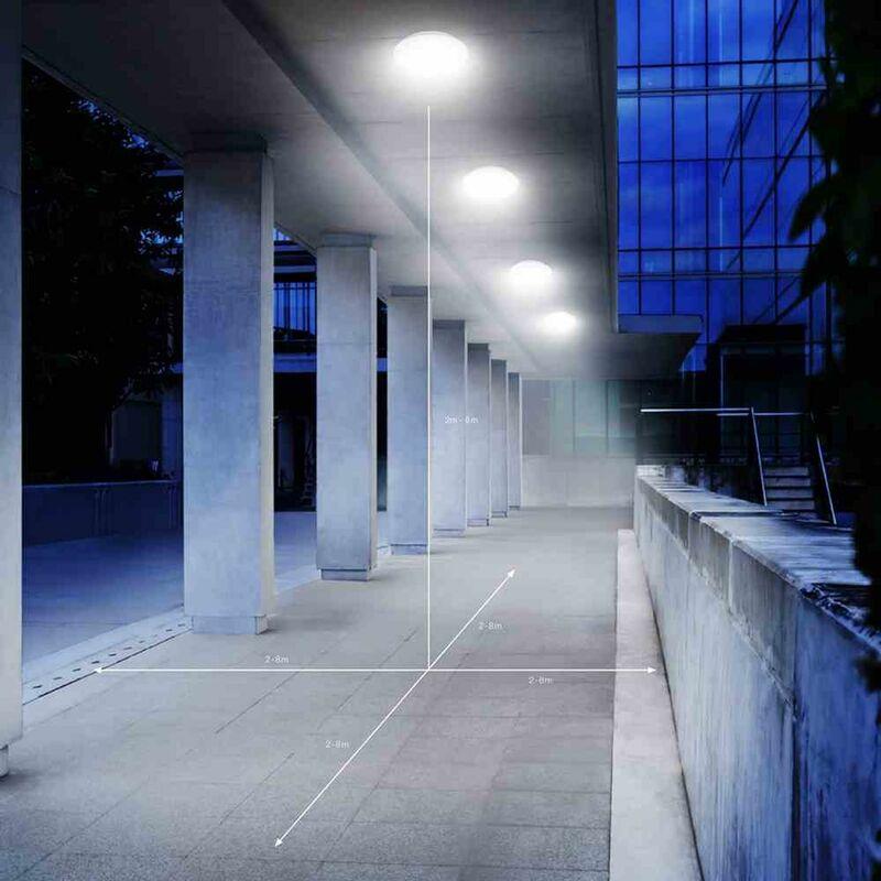 Außenleuchte DL Vario Quattro PRO LED 14W silber Lampe Leuchte Wandleuchte Licht - STEINEL