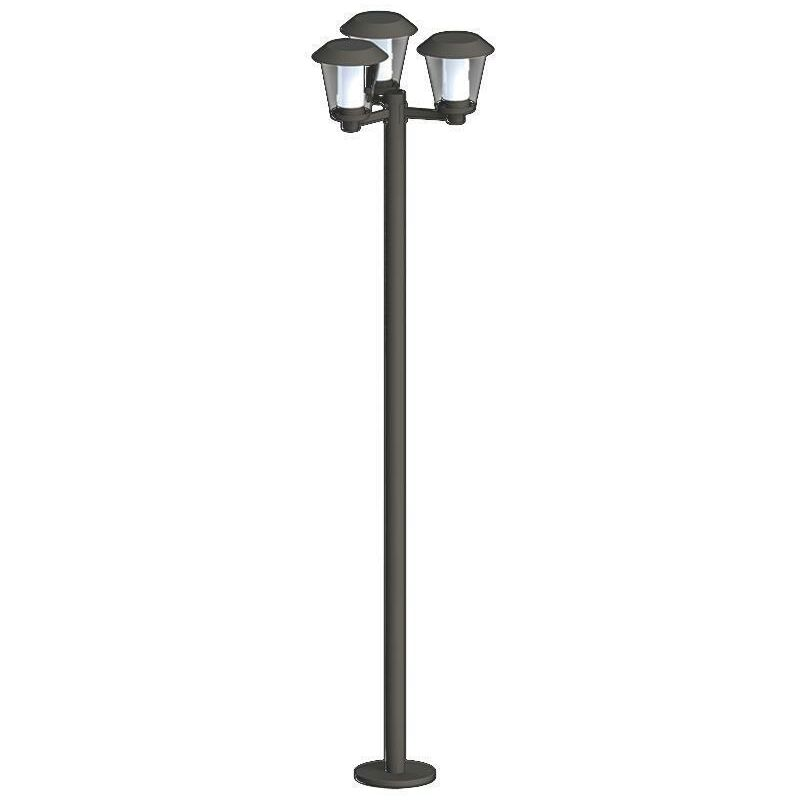 Außenleuchte Paterno LED Kandelaber Gartenleuchte Stehlampe - Eglo