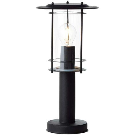 Außenleuchte Sockelleuchte Brilliant York 44784/06 Wegelampe Schwarz