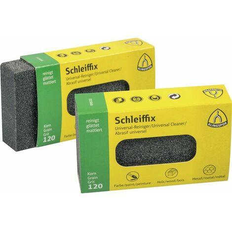 AUSWAHL:KLINGSPOR Schleiffix 80x50x20mm Schleifklotz Schleifschwamm Schleifblock