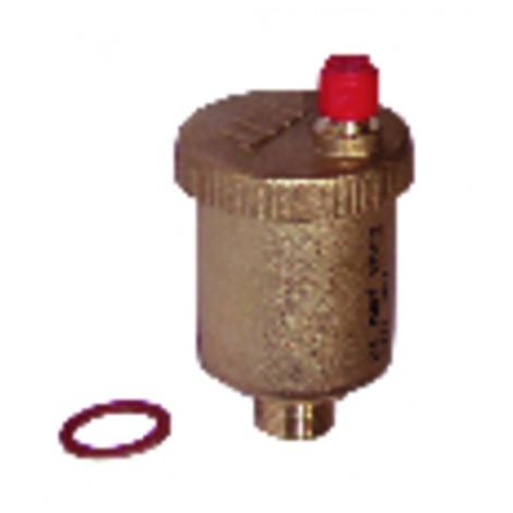 Auto air vent brass 1/2 male