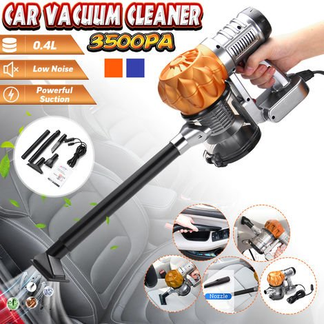 Auto Aspirateur Portable DC 12 V 100 W Portable cyclonique humide/sec 3500 pa OR