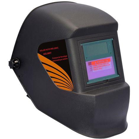 Auto Darkening Welding Helmet, Adjustable Welding Helmet, Black, Material: Plastic (PP, PE), PCB