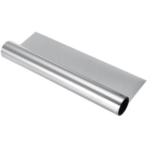Autoadhesivo Efecto Espejo Película para Ventana PET Anti UV Protección Solar 70cmX400cm