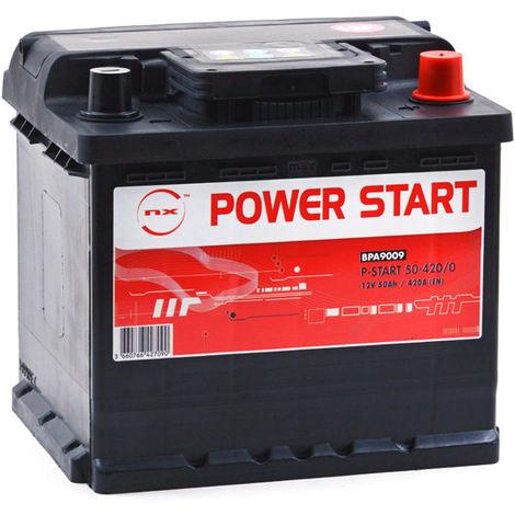Autobatterie NX Power Start 50-420/0 12V 50Ah