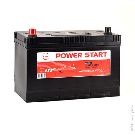 Autobatterie NX Power Start 90-680/1 12V 90Ah