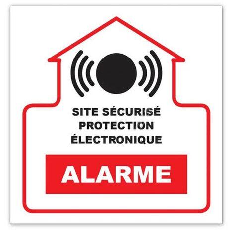 Autocollant Alarme 10 X 10 Cm G273944 Pour ALARME