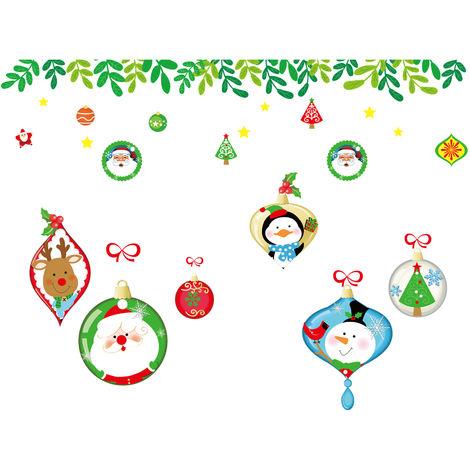 Autocollants Muraux Decoratifs Auto-Adhesifs Pour Fenetres