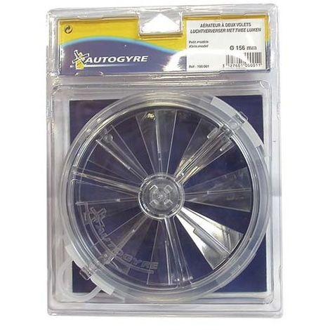 AUTOGYRE - Aérateur à volets cristal - D: 156 mm