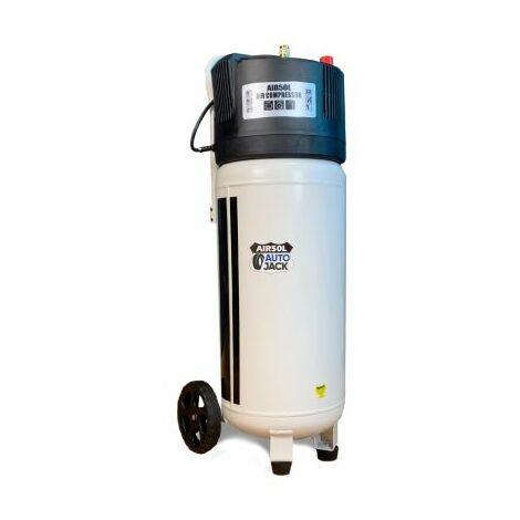 Autojack AIR50VL 50L Oil Free Belt Driven Compressor