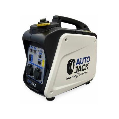 Autojack Quiet Portable Suitcase Inverter Petrol Generator 4 Stroke 1800W 12V 240V …