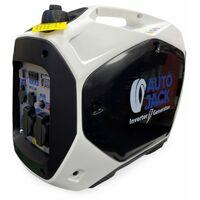 Autojack Quiet Portable Suitcase Inverter Petrol Generator 4 Stroke 2200W 12V 240V …