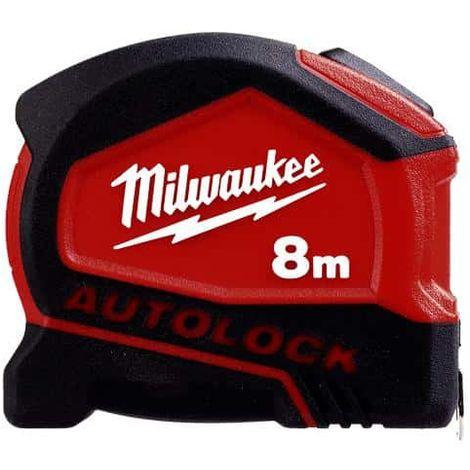 Autolock MILWAUKEE 8m tape measure - 4932464664