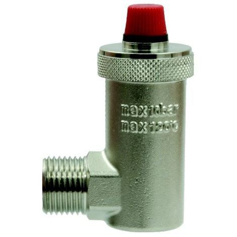 "Automatic Air Vent 1/2"" BSP Side Entry 15mm Valve Trapped Air Remover"