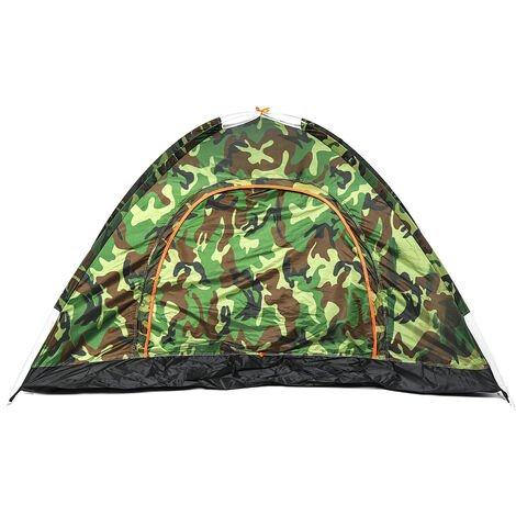 Automatic Camping Tent 2 Persons Anti-Mosquito Net Outdoor Shelters Camouflage