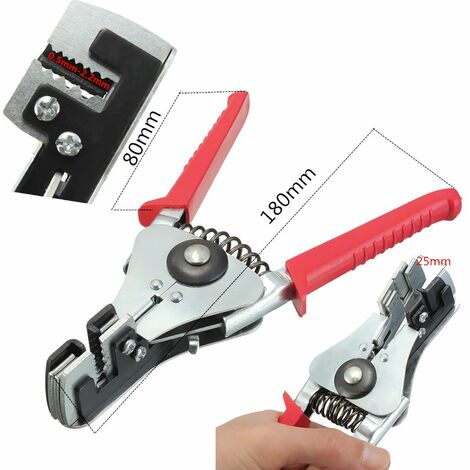 Automatic Crimper Wire Stripper Cable Cutter Wire Rope Bend DIY Tool