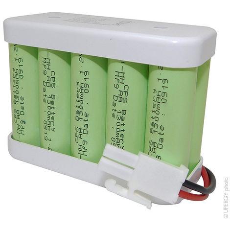 Automatic door battery 10x AA 10S1P ST2 12V 1700mAh AMP