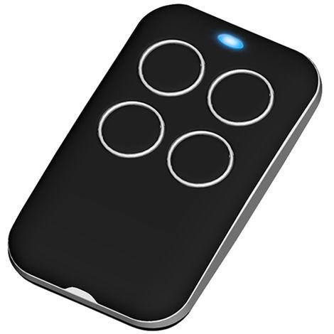 Automatic garage door remote control clones multifrequency copier, black