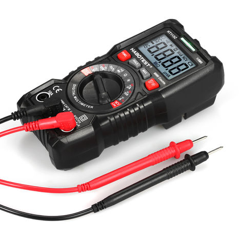 Automatic range high precision digital multimeter HT113C without battery delivery