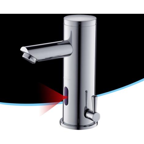 Automatic Sensor Basin Mixer Tap, Wash Cloakroom Faucet for Bathroom Washroom, Hands Free