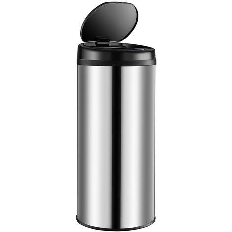 Automatic Sensor Dustbin 30L 40L 56L Waste Bin Kitchen Stainless Steel Trash Can