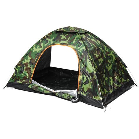 Automatic Tents 180x120x100cm Camouflage Double Layer Waterproof Camping Hiking Tent 2-3 People