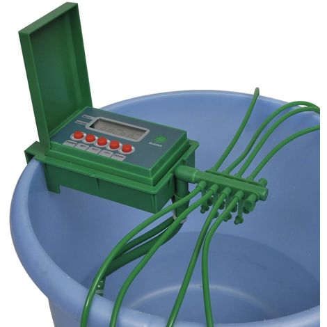 Automatic Watering Irrigation System Water Sprinkler Timer