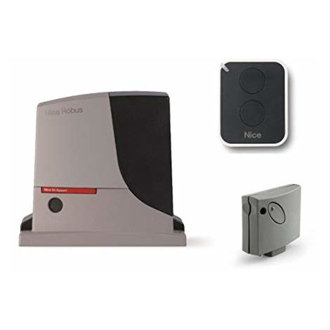 Automation Kit Nice Robus 500 Hs (Rb500Hs Smxi On2E) For Actuating Fast Sliding Gate Up To 8 M Or 500 Kg, 24 Vdc