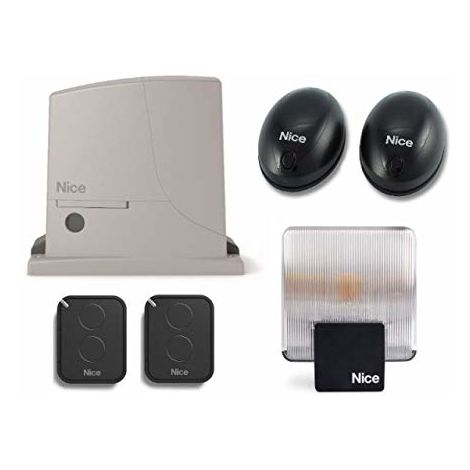 Automation Kit Nice Rox600 Full Kit (Rox600 X 2 Bf Flo2Re Elac 230V) For Gates Up To 600 Kg