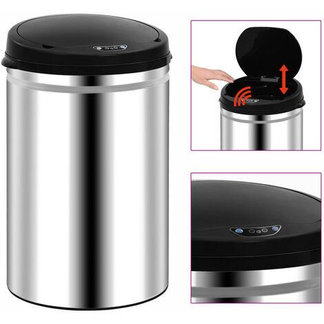 Automatischer Sensor-Mülleimer 30 L Edelstahl