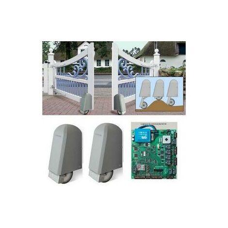 Automatisme 24V ROLLER 2 pour portail battant 2 vantaux ELKA - 8000193.