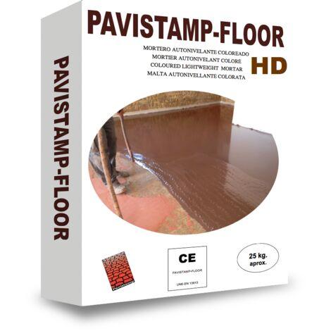 Autonivelante coloreado y decorativo Pavistamp Floor HD