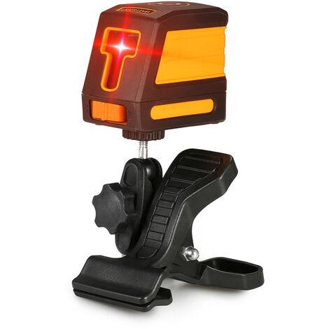 Autonivelante, Nivel laser rojo de 2 lineas, nivelacion horizontal y vertical de lineas cruzadas