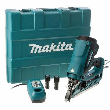 Autonomous gas nailer MAKITA 7.2V - 2 batteries 1.0Ah - 1 charger DC10WA GN900SE