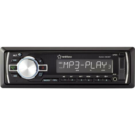 Autoradio Renkforce RUSD-1803BT RF-4457970 1 pc(s) W630071