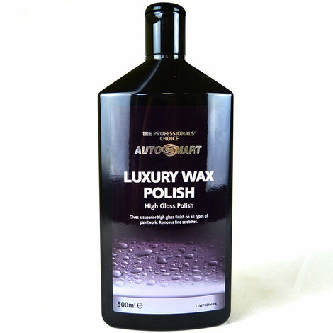 Autosmart Luxury Car Wax Polish - High Gloss - Fine Scratch Remover - 500ml