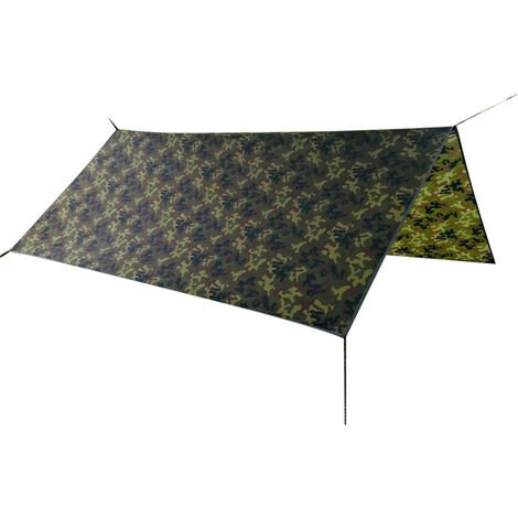 Auvent camouflage carre3 * 3m TM20003 210T polyester