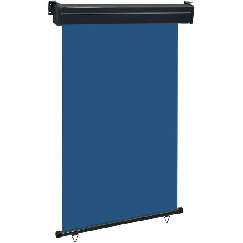 Auvent latéral de balcon 120x250 cm Bleu