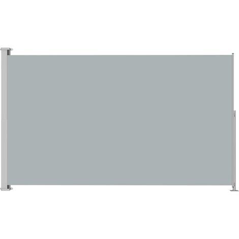 Auvent latéral rétractable de patio 180x300 cm Anthracite