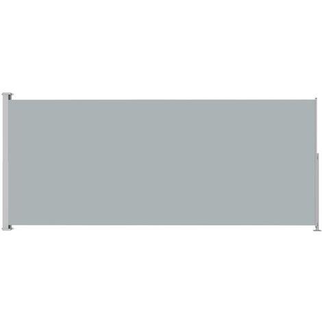 Auvent latéral rétractable de patio 180x500 cm Anthracite