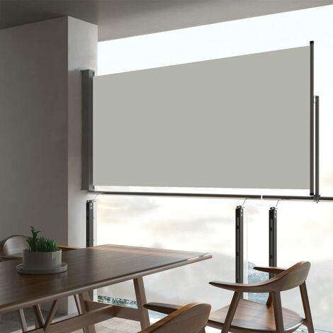 """main image of """"Auvent latéral rétractable de patio 80x300 cm Crème"""""""