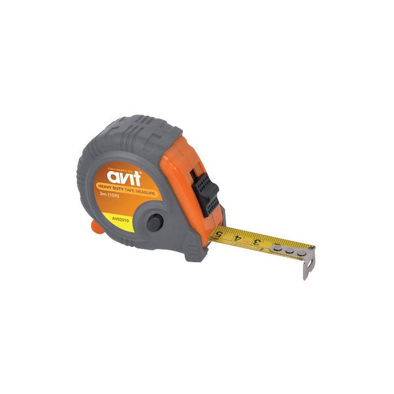 Image of AV02010 Heavy Duty Tape Measure - 3m (10ft) - Avit