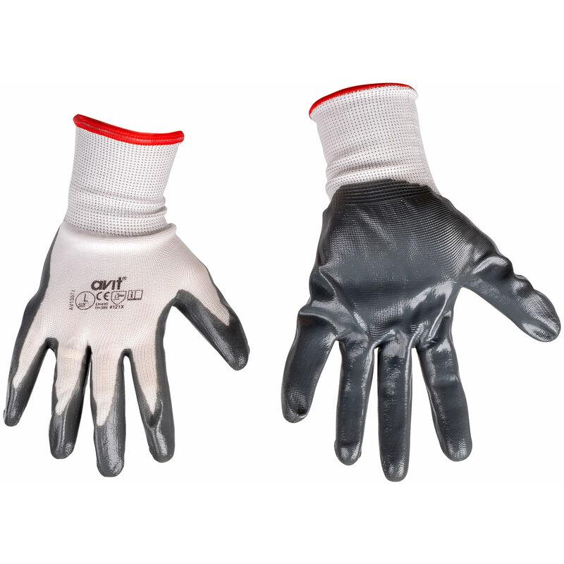 Image of AV13072 Nitrile Coated Gloves L - Avit