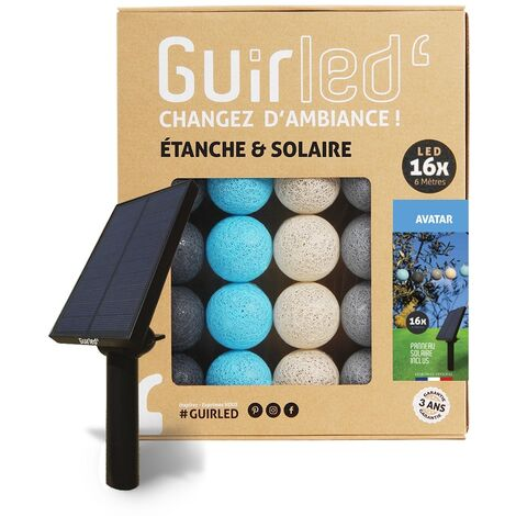 Avatar Outdoor Guirlande lumineuse Guinguette Solaire boules LED