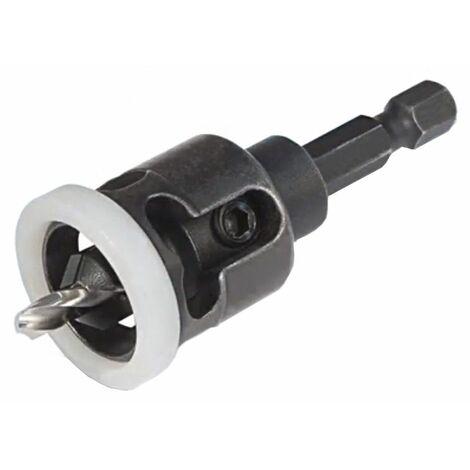 Avellanador Virutex con Tope de Profundidad, 3 mm.