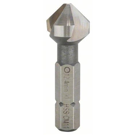 Avellanadores cónicos 12,4 mm, M 6, 35 mm, 1/4 BOSCH